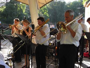 Bigband Konzert, Glacis