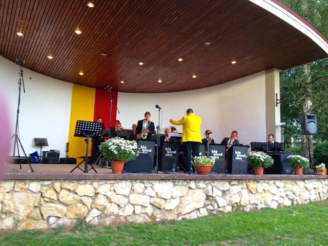 Gospel meets Jazz, Schwendi, 27.09.2015 (Foto: G. Sacher)
